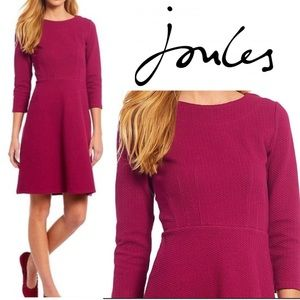 NWT Joules Shay 3/4 Sleeve A-Line Dress size 4